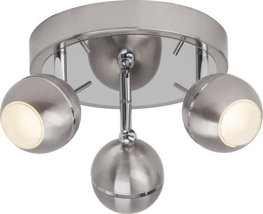 LED-Deckenstrahler 13.5 W Warm-Weiß Brilliant Comb G12234/77 Chrom (satiniert)