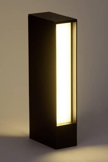 LED-Außenstandleuchte 8 W Warm-Weiß Brilliant G43184/06 Hollow Schwarz
