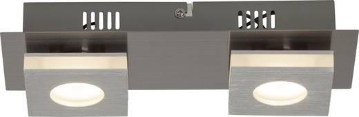 Brilliant Transit G67429/21 LED-Deckenleuchte 8 W Warm-Weiß Nickel, Aluminium