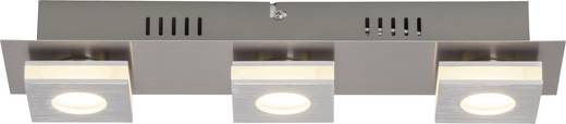 Brilliant Transit G67430/21 LED-Deckenleuchte 12 W Warm-Weiß Nickel, Aluminium