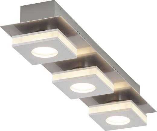LED-Deckenleuchte 12 W Warm-Weiß Brilliant Transit G67430/21 Nickel, Aluminium