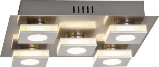 Brilliant Transit G67495/21 LED-Deckenleuchte 20 W Warm-Weiß Nickel, Aluminium