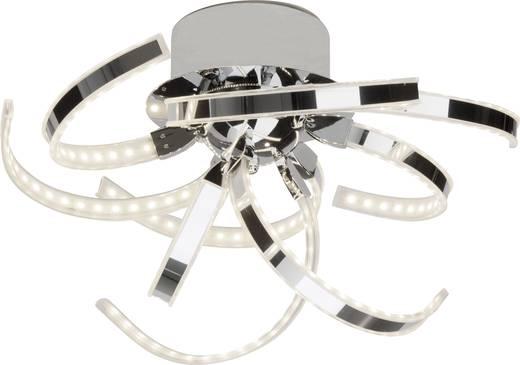 Brilliant Yunan G94348/15 LED-Deckenleuchte 42 W Warm-Weiß Chrom