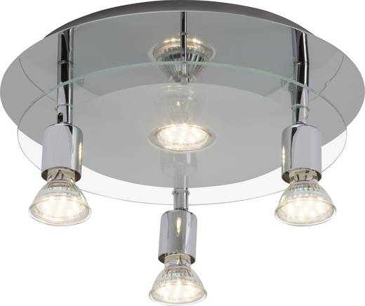 Deckenstrahler LED GU10 EEK: A+ (A++ - E) 10 W Brilliant Virginia G94404A15 Chrom
