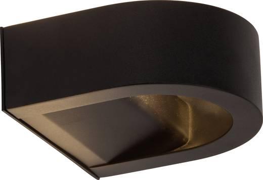 LED-Außenwandleuchte 4 W Warm-Weiß Brilliant Arco G96249/06 Schwarz