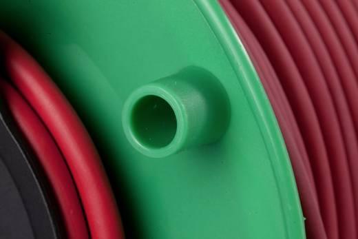 Kabeltrommel 50 m Rot Schutzkontakt-Gummi-Stecker as - Schwabe 12239