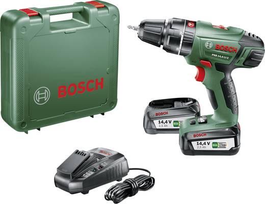 Bosch Home and Garden PSB 14,4 LI-2 Akku-Schlagbohrschrauber 14.4 V 2.5 Ah Li-Ion inkl. 2. Akku, inkl. Koffer