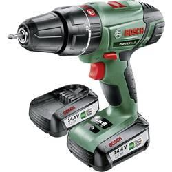 Aku príklepová vŕtačka Bosch Home and Garden PSB 14,4 LI-2 0603982409, 14.4 V, 2.5 Ah, Li-Ion akumulátor