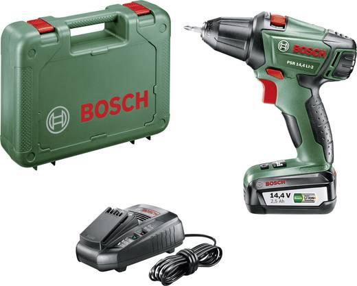 Bosch Home and Garden PSR 14,4 LI-2 Akku-Bohrschrauber 14.4 V 2.5 Ah Li-Ion inkl. Akku, inkl. Koffer