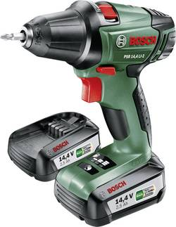 Aku vŕtací skrutkovač Bosch Home and Garden PSR 14,4 LI-2 060397340P, 14.4 V, 2.5 Ah, Li-Ion akumulátor