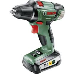 Aku vŕtací skrutkovač Bosch Home and Garden PSR 18 LI-2 060397330G, 18 V, 2.5 Ah, Li-Ion akumulátor