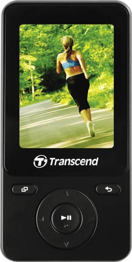 Transcend MP710 MP3-Player, MP4-Player 8 GB Schwarz Fitnesstracker, FM Radio, Schrittzähler, Sprachaufnahme, eBook-Funkt