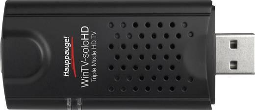Hauppauge WinTV-Solo HD TV-Stick mit DVB-T Antenne, mit Fernbedienung, Aufnahmefunktion Anzahl Tuner: 1