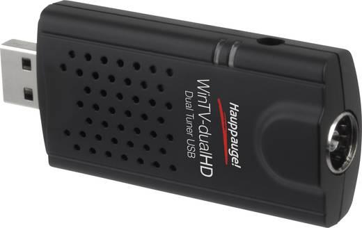 Hauppauge WinTV-dualHD TV-Stick mit Fernbedienung Anzahl Tuner: 2