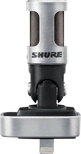 Handymikrofon Shure MV88 Übertragungsart:Direkt inkl. Windschutz