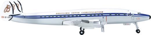 """Luftfahrzeug 1:500 Herpa SCFA / Breitling Lockheed L-1049H Super Constellation """"60th Anniversary"""" 523035-001"""