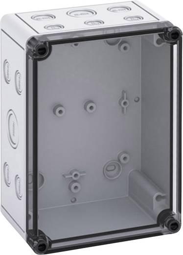 Spelsberg TK PC 1813-9-TM Installations-Gehäuse 130 x 180 x 90 Polycarbonat Licht-Grau 1 St.