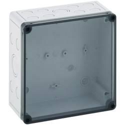 Inštalačná krabička Spelsberg TK PC 1818-9-TM 13700701, (d x š x v) 180 x 182 x 90 mm, polykarbonát, svetlo sivá, 1 ks