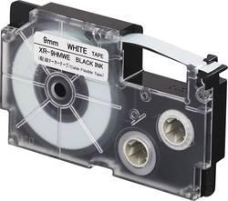Páska na kabely Casio XR-9HMWE, 9 mm, 5.5 m, černá, bílá