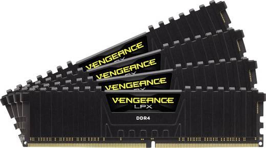 Corsair PC-Arbeitsspeicher Kit Vengeance® LPX CMK16GX4M4A2133C13 16 GB 4 x 4 GB DDR4-RAM 2133 MHz CL13 15-15-28