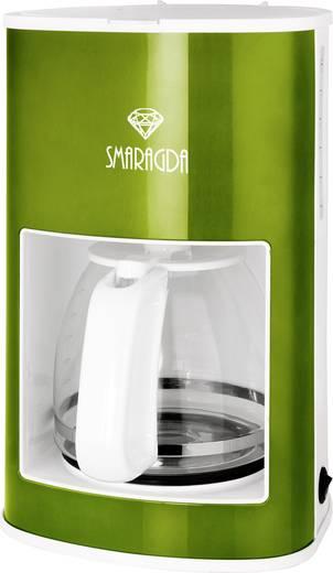 Kaffeemaschine TKG Team Kalorik TKG CM 1210 SM Smaragd-Grün (glänzend) Fassungsvermögen Tassen=12 Warmhaltefunktion