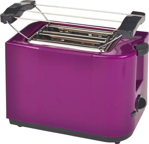 Toaster kabelgebunden, mit Brötchenaufsatz EFBE Schott SC TO 5000 PURPUR Purpur