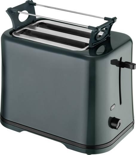 EFBE Schott SC TO 1080 GR Toaster kabelgebunden, mit Brötchenaufsatz Moosgrün