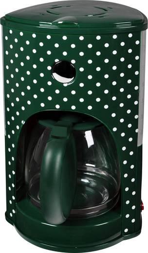 TKG Team Kalorik TKG CM 1008 GWD Kaffeemaschine Weiß/Grün Fassungsvermögen Tassen=15 Warmhaltefunktion