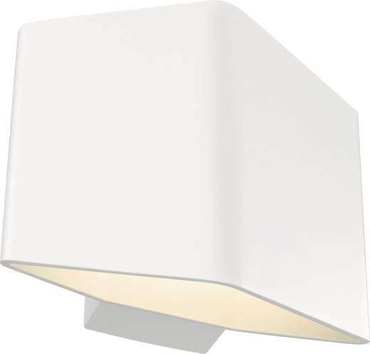 LED-Wandleuchte 7.6 W Warm-Weiß SLV Cariso 1 151701 Weiß