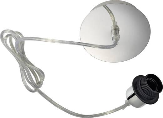 Pendelleuchte LED E27 60 W SLV Fenda 155562 Chrom
