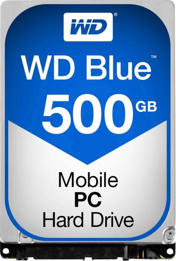 Interne Festplatte 6.35 cm (2.5 Zoll) 500 GB Western Digital Blue™ Mobile Bulk WD5000LPCX SATA III