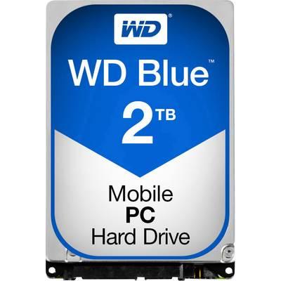 Interne Festplatte 6.35 cm (2.5 Zoll) 2 TB Western Digital Blue? Mobile Bulk WD20SPZX SATA Preisvergleich