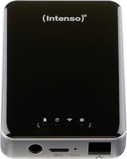 Wi-Fi pevný disk Intenso 6025860, 1 TB, USB 3.0, LAN (až 100 Mbit/s), Wi-Fi 802.11 b/g/n, černá