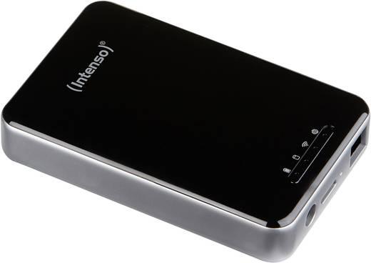 WLAN-Festplatte 1 TB Intenso 6025860 Schwarz 6025860 SD-Kartenslot