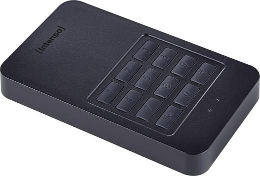 Intenso Memory Safe Externe Festplatte 6.35 cm (2.5 Zoll) 1 TB Schwarz USB 3.0