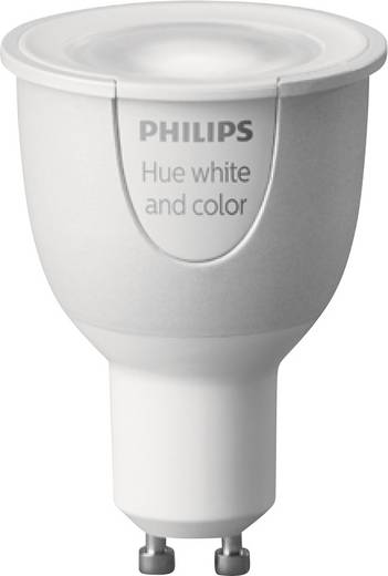 Philips Lighting Hue LED-Leuchtmittel (einzeln) White and color ambiance GU10 6.5 W RGBW