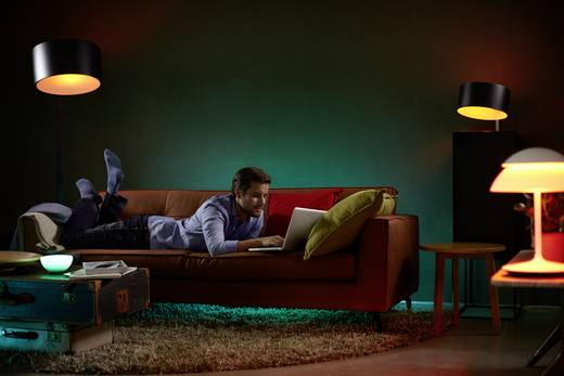 Philips Lighting Hue LED-Stripe (Erweiterung) Lightstrip+ 1m LED fest eingebaut