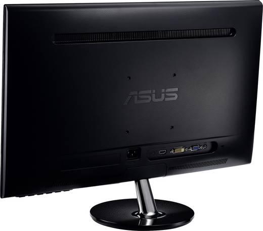 Asus VS248HR LED-Monitor 61 cm (24 Zoll) EEK A+ 1920 x 1080 Pixel Full HD 1 ms HDMI™, VGA, DVI, Kopfhörer (3.5 mm Klinke