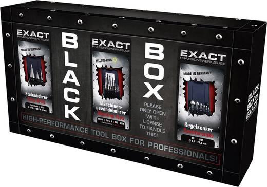 Metallbearbeitungs-Set Black Box metrisch M3 - M12 Rechtsschneidend Exact 70611 HSS-E Form B 1 St.