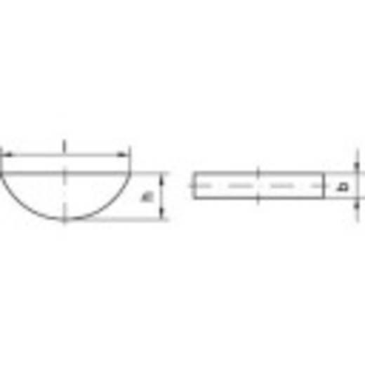 Scheibenfedern Stahl 100 St. TOOLCRAFT 138904