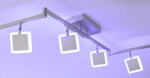 paul neuhaus q led deckenstrahler q vidal led fest eingebaut 28 8 w warm wei rgb. Black Bedroom Furniture Sets. Home Design Ideas