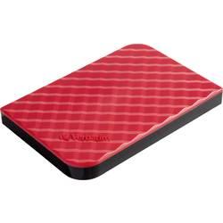 """Externý pevný disk 6,35 cm (2,5"""") Verbatim Store 'n' Go, 1 TB, USB 3.2 Gen 1 (USB 3.0), červená"""