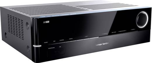 Harman Kardon AVR 161S 5.1 AV-Receiver 5x85 W Schwarz 4K UltraHD, Bluetooth®, DLNA, Internetradio, USB