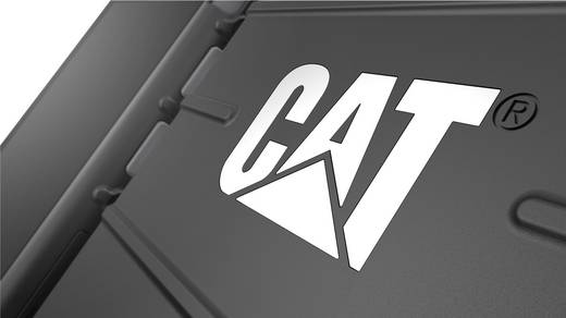 CAT S30 Outdoor Smartphone 11.4 cm (4.5 Zoll) 1.1 GHz Quad Core 8 GB 5 MP Android™ 5.1, IP-68, MIL-STD 810G, Schwarz