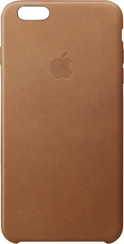 Zadní kryt pro iPhone Apple Leder Case vhodné pro: Apple iPhone 6S, Apple iPhone 6, sedlově hněd