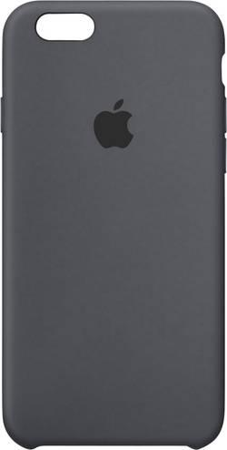 Coque arrière Apple Silikon Case Adapté pour: Apple iPhone 6S, Apple iPhone 6, anthracite