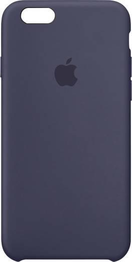 Apple Silikon Case iPhone Backcover Passend für: Apple iPhone 6S, Apple iPhone 6, Mitternachts-Blau
