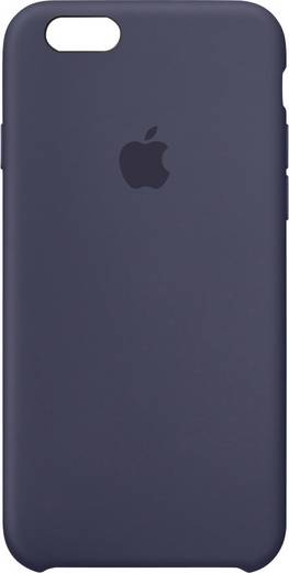 iPhone Backcover Apple Silikon Case Passend für: Apple iPhone 6S, Apple iPhone 6, Mitternachts-Blau