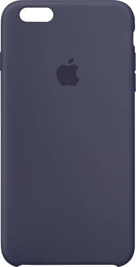 Apple Silikon Case iPhone Backcover Passend für: Apple iPhone 6S Plus, Apple iPhone 6 Plus, Mitternachts-Blau