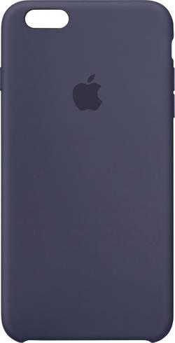Coque arrière Apple Silikon Case Adapté pour: Apple iPhone 6S Plus, Apple iPhone 6 Plus, bleu nuit